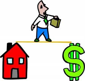 mortgage tightrope