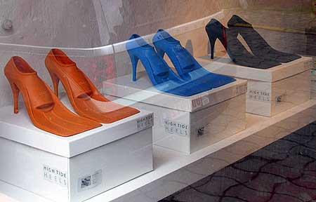 global warming footwear