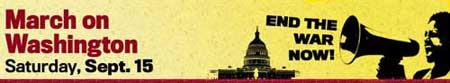 Sept. 15 March on Washington