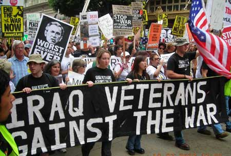 Iraq Veterans Against the War. LA. Oct 27 2007