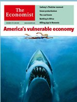 The Economist. Shark cover