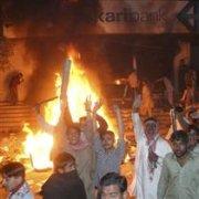 Karachi riot