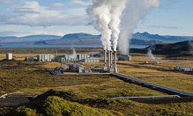 Nesjavellir Geothermal Power Plant. iceland