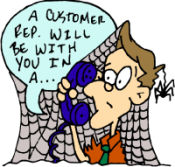 customer rep will be with you …