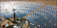 Solar thermal. Mojave desert