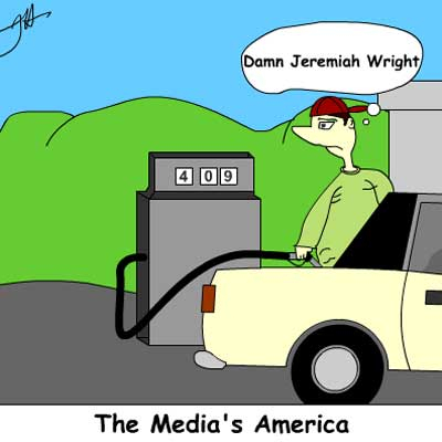 Mdia's Amrica. Intoxination cartoon