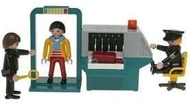 Playmobil Security Check Point toy