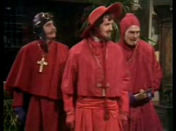 spanish inquisition. monty python