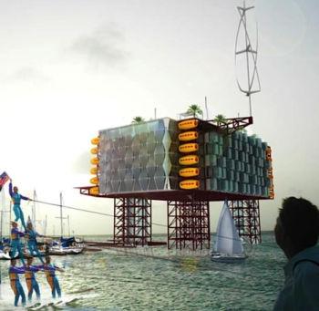 oil rig resort
