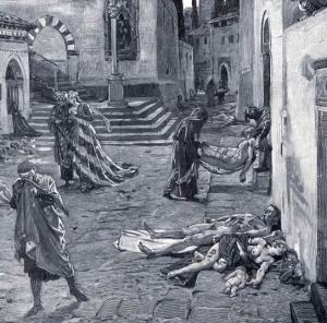 marcello. black death. Florence. 1348