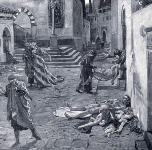 marcello. black death. Florence. 1348