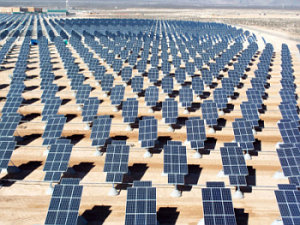 Nellis Air Force Base solar farm