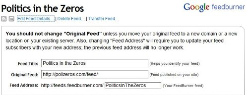 Use Feedburner to create a new, more powerful RSS feed for readers to use