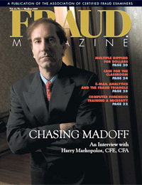 Fraud magazine May/June 2009 cover