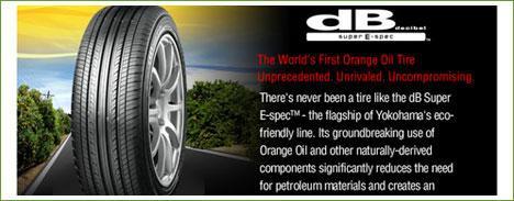 orange oil tire