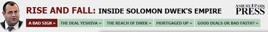 solomon dwek mini-site. Ashbury Park Press