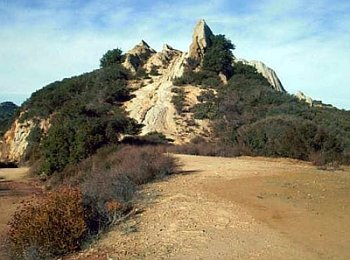 Toganga State Park hiking trail