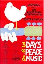 Woodstock music festival poster