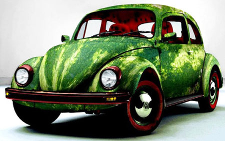 watermelon car by rungue