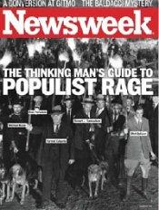 Newsweek Populism cover