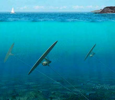 Deep Green. Wave kite power