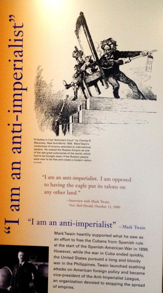 mark twain anti imperialist politics in the zeros mark twain anti imperialist