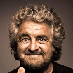 Comedian turned blogger Beppe Grillo won 25% of the Italian vote