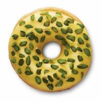 Saffron-Pistachio-donut