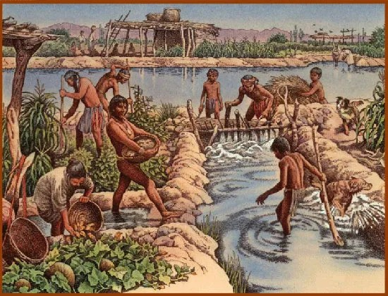 The Hohokam lived in baking deserts in Arizona and built canals by hand. Then the droughts came...