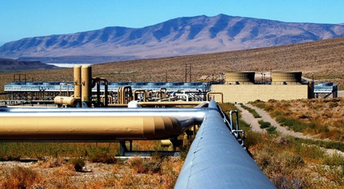 Ormat geothermal plant in Nevada