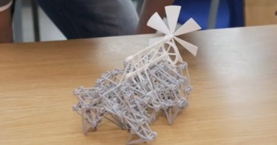 This self-propelled toy has 75 moving parts, all 3D printed