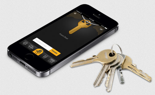 KeyMe scans keys with a smartphone