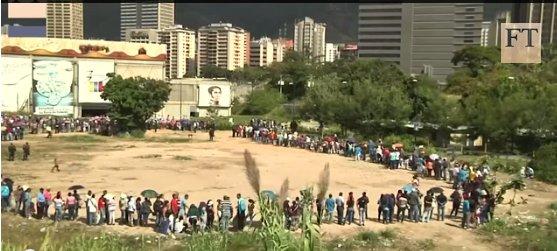 Venezuela food line