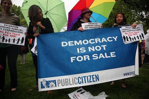 Trans Pacific Partnership photo