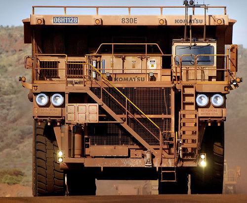 Oilsands trucks