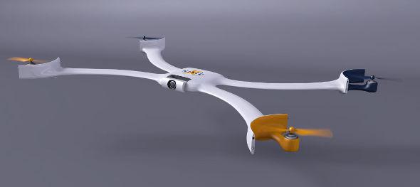 Nixie-Drone-Prototype
