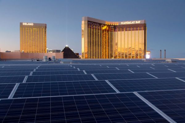 Mandalay Bay solar power