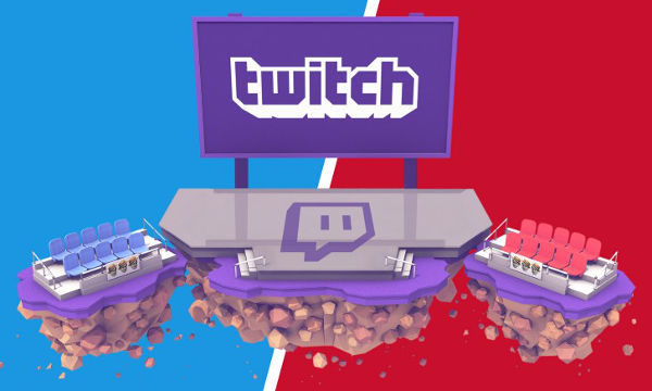 Twitch. Democratic and Republican conventions