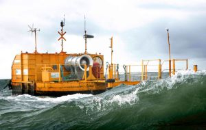 Ocean Energy wave energy turbine