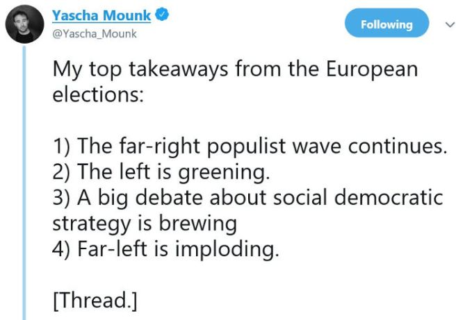 European elections results