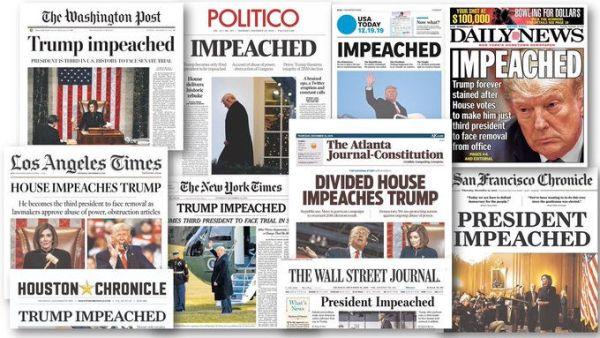 Impeachment headlines
