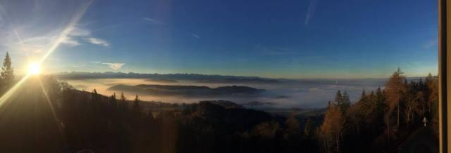 Was ein Panorama am Montagmorgen