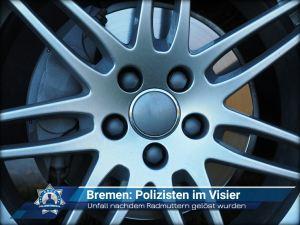 Bremen: Polizisten im Visier