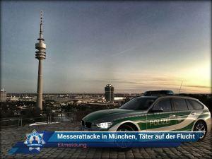 +Eilmeldung+ Messerattacke in München, mehrere Menschen verletzt, Täter auf der Flucht