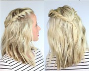 diy boho hair-dos and accessories