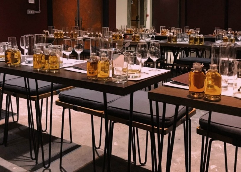 Whisky Blending with Chivas Regal