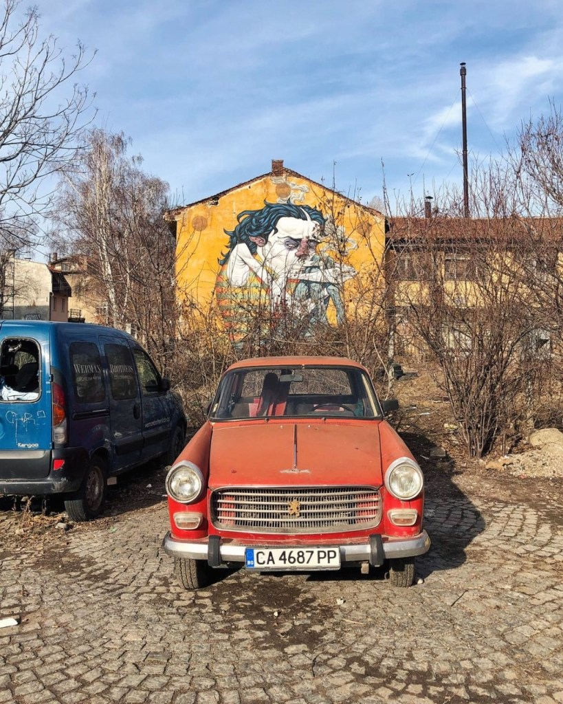 Things to do in Sofia Street Art Bozko