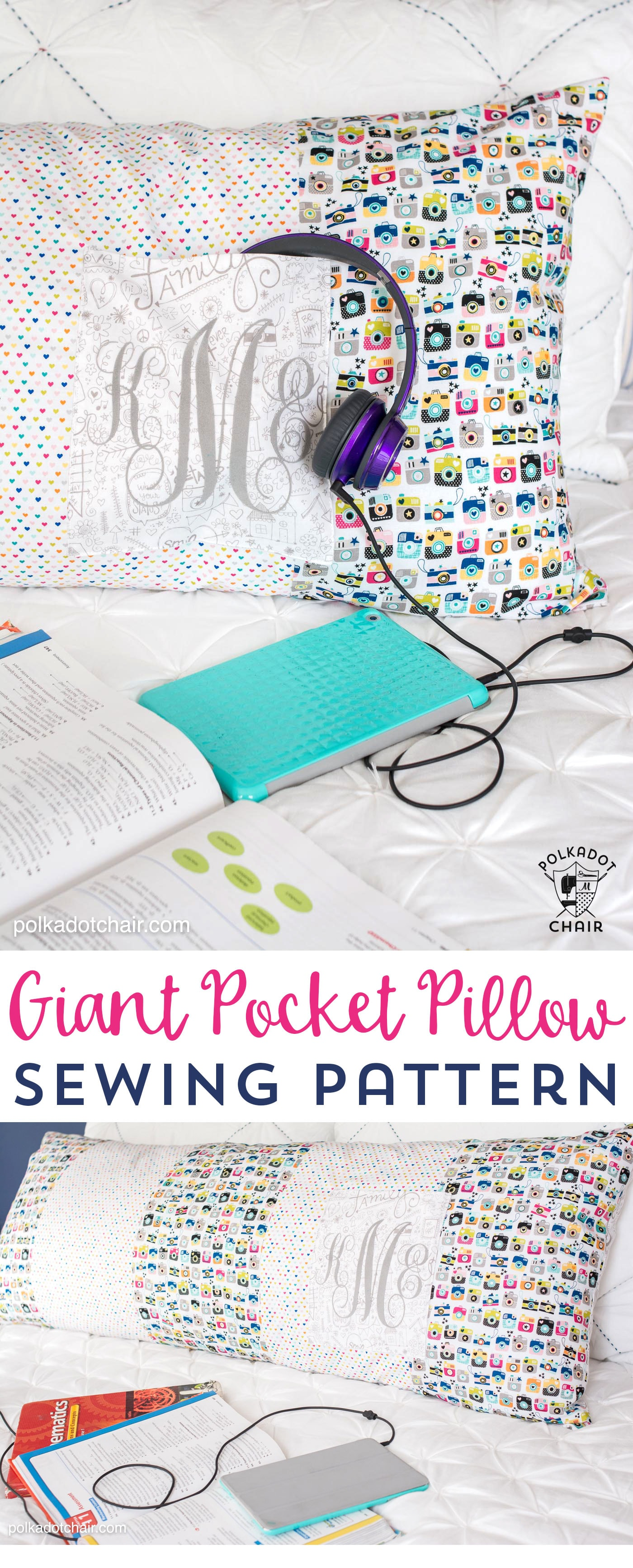 Giant Pillow Chair Giant Body Pillow Sewing Pattern With Pocket