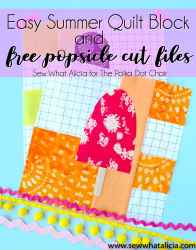 quilt block popsicle pattern summer quilts fun