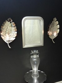 Palm Leaf wall Sconce - Interior Designs Sussex
